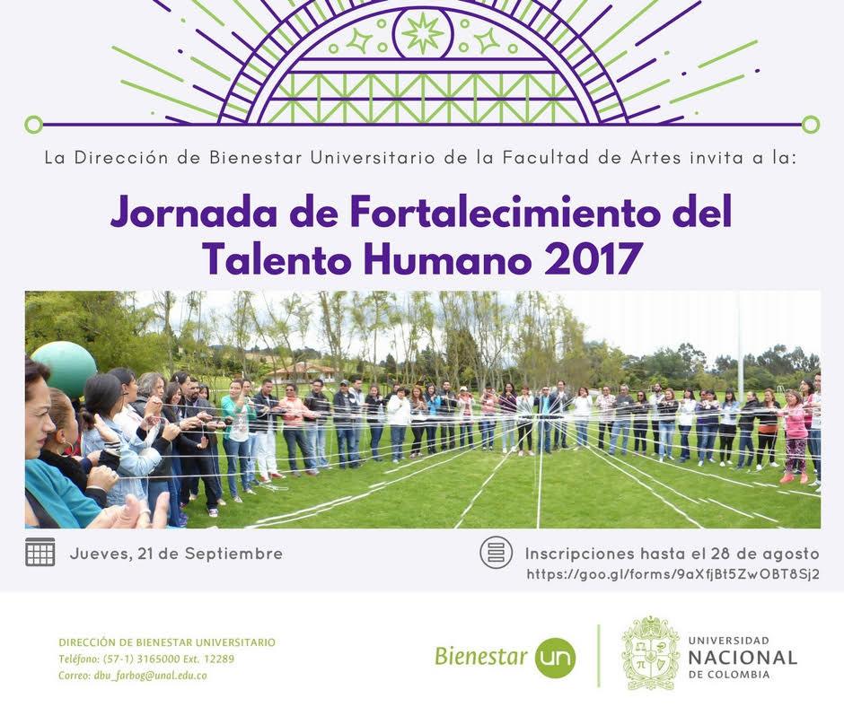 Jornada de Fortalecimiento al Talento Humano
